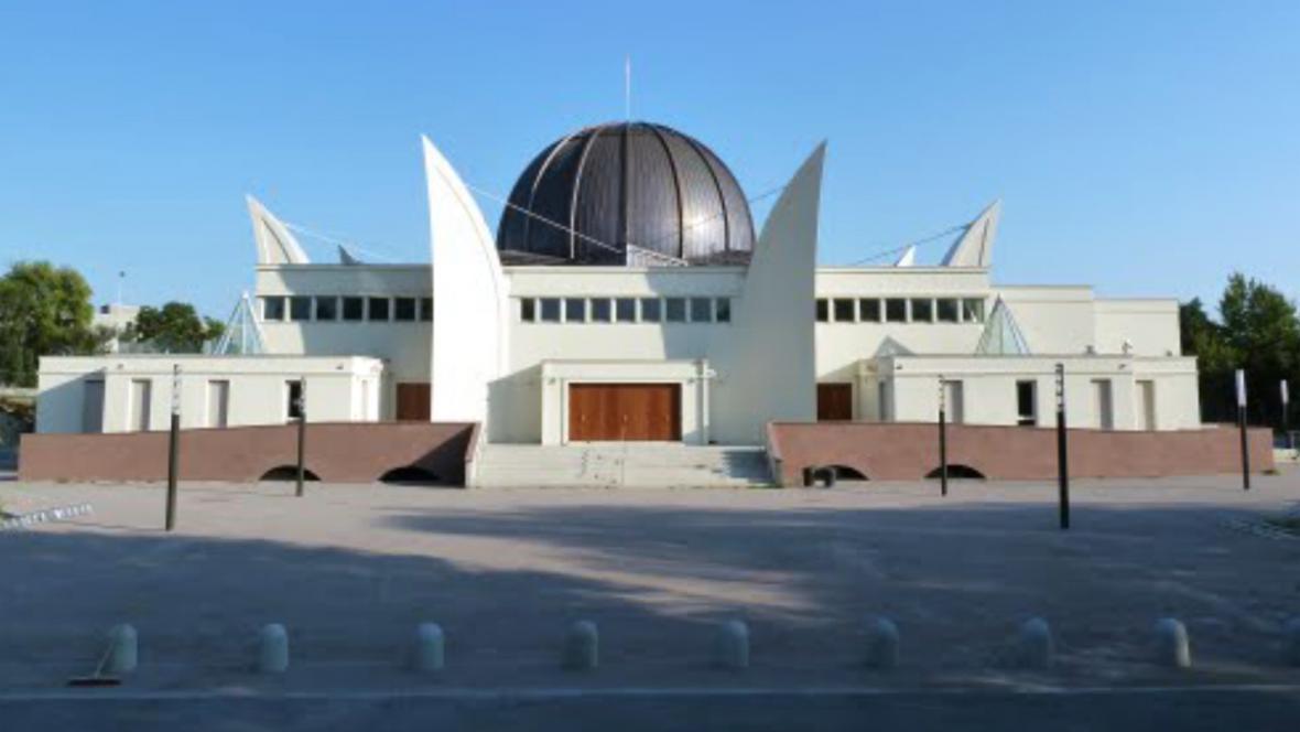 Nová mešita ve Štrasburku