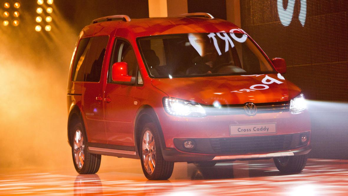Multivan Volkswagen Cross Caddy