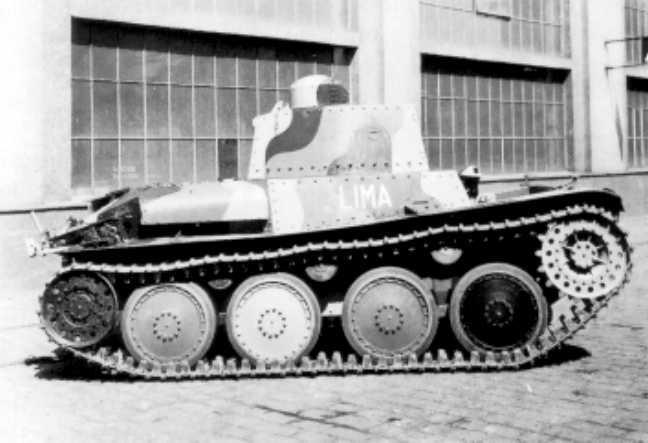 Tank LTP 38