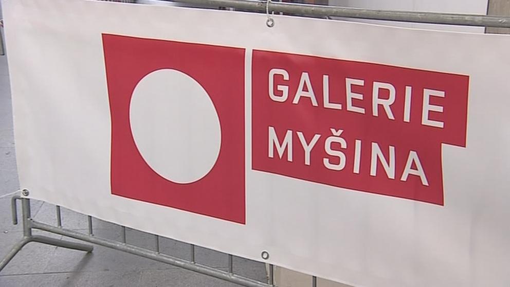 Galerie v podchodu pod brněnským nádražím