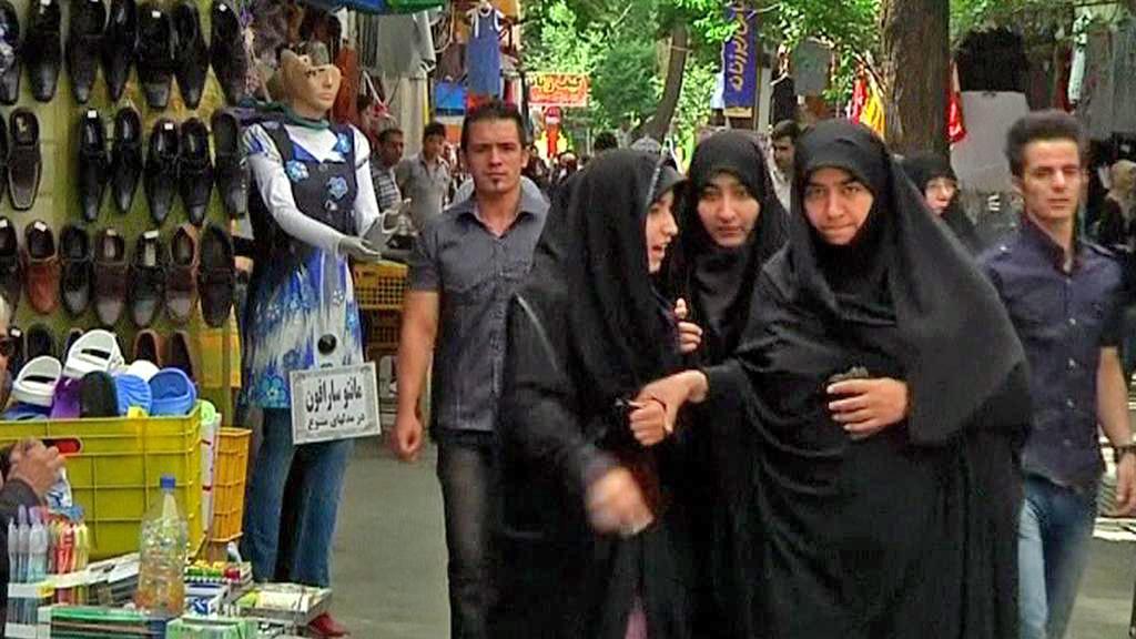 Íránky v Čádoru