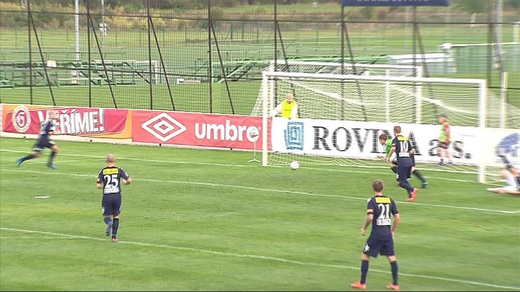 V prvním poločase mělo Slovácko namále, Kroměříž ale neproměnila penaltu