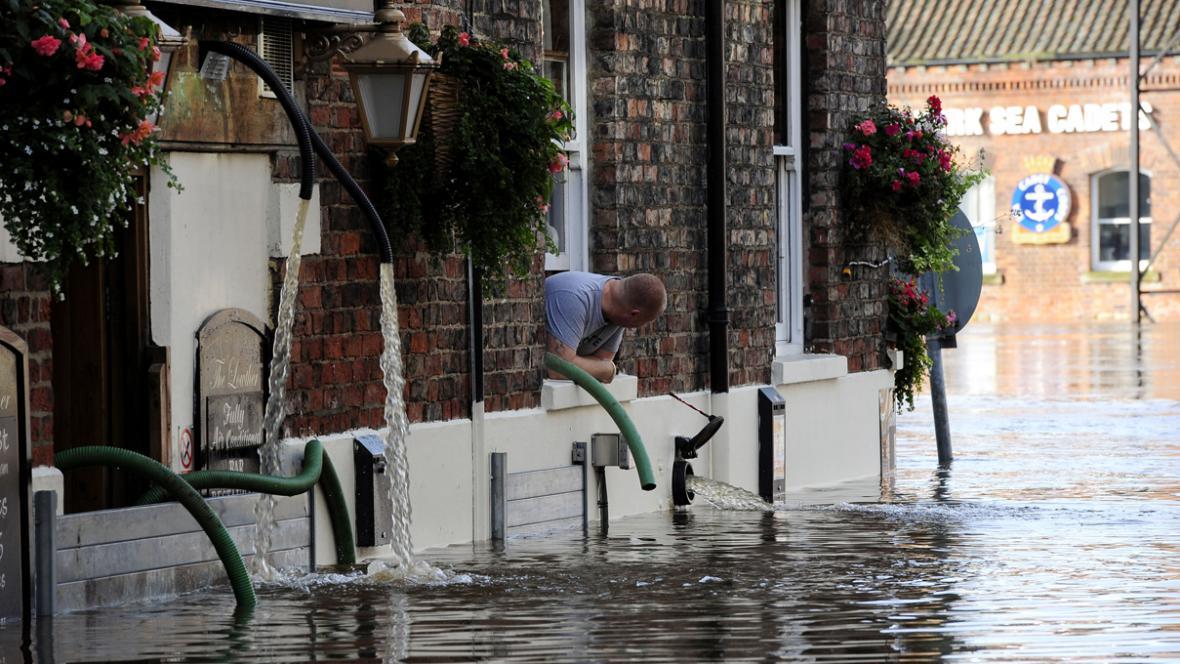 Záplavy v Yorku
