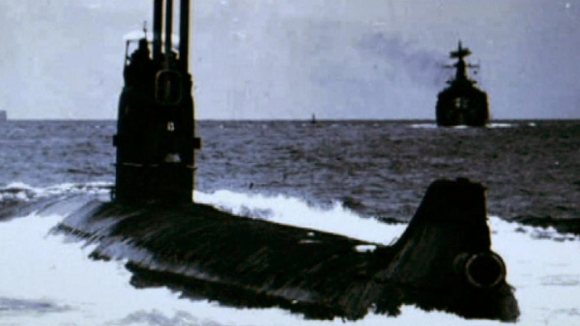 Ruská ponorka K-27