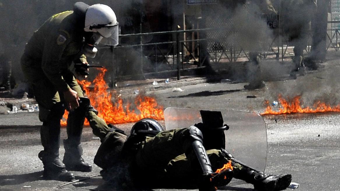 Řecko opět ve stávce