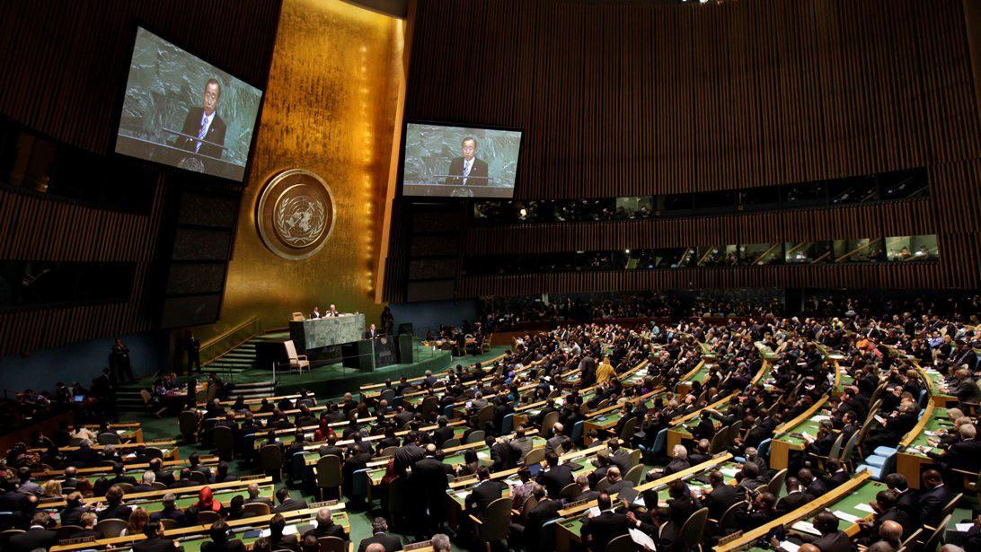 Zasedání Valného shromáždění OSN v New Yorku
