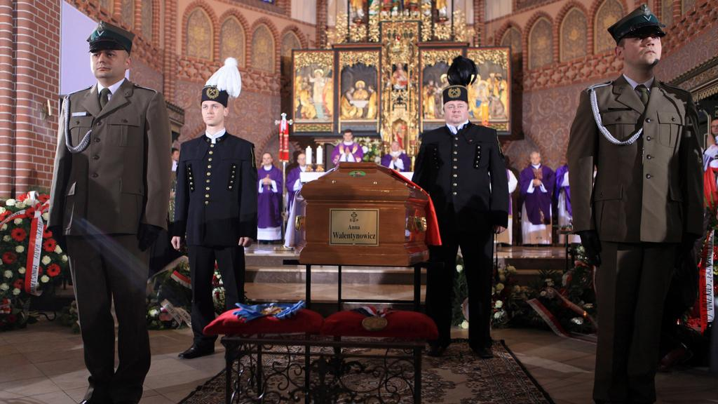 Pohřeb Anny Walentynowiczové