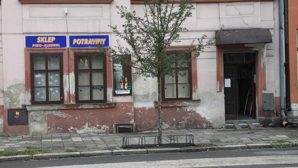 Prodejna ve Starém Bohumíně