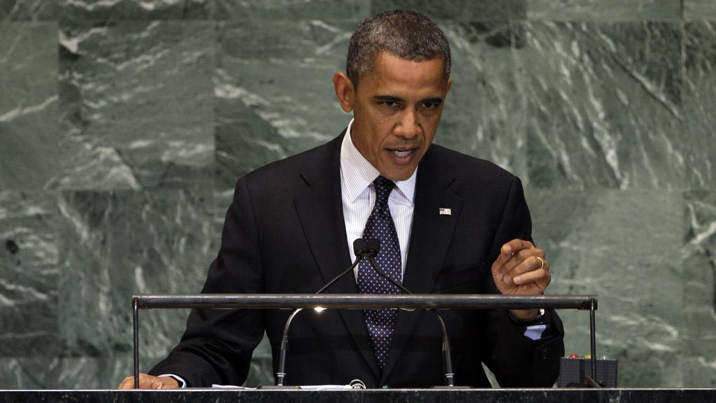 Barack Obama na Valném shromáždění OSN