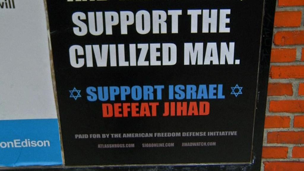 Plakát proti džihádu