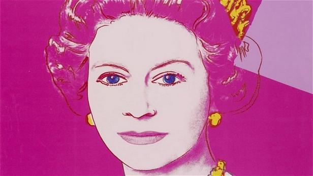 Královna Alžběta od Andyho Warhola