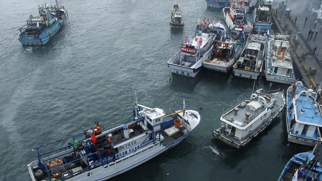 Lodě mířící do japonských vod