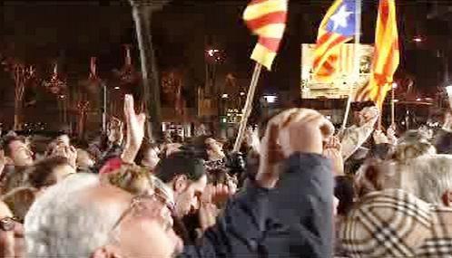 Katalánští nacionalisté slaví volební vítězství