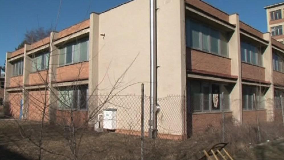Někdejší areál výpočetního střediska TOS Kuřim