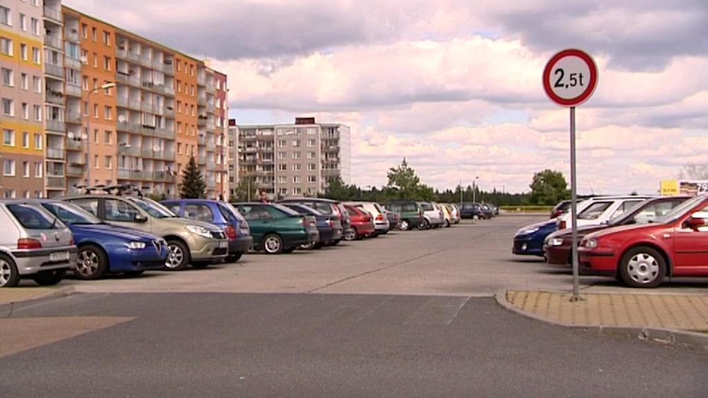 Ohrožené parkoviště