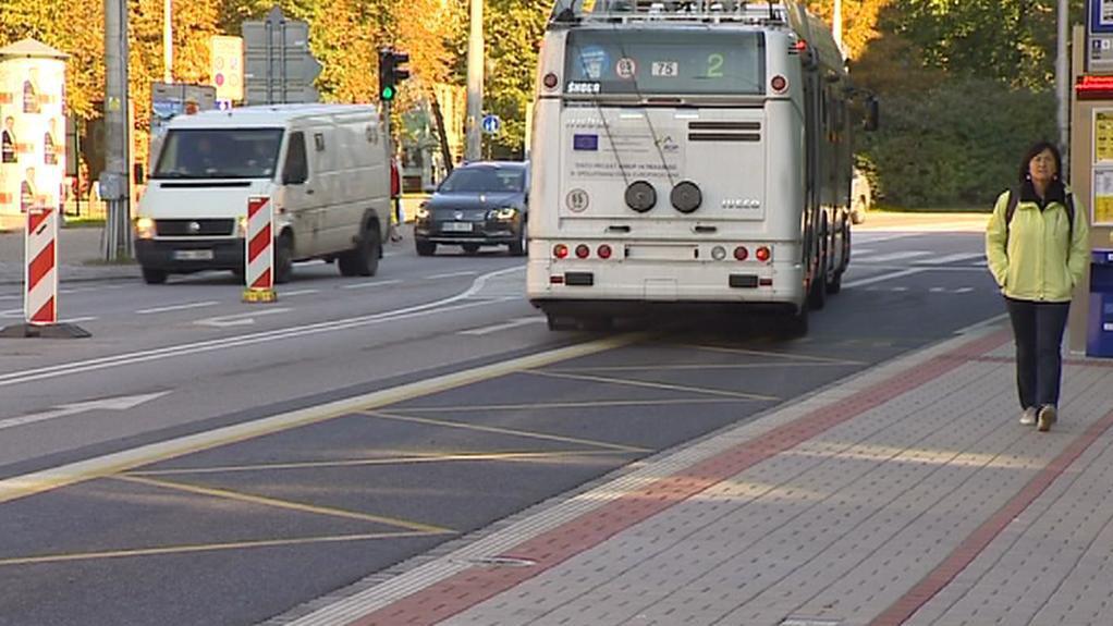 Dopravní provoz v Českých Budějovicích