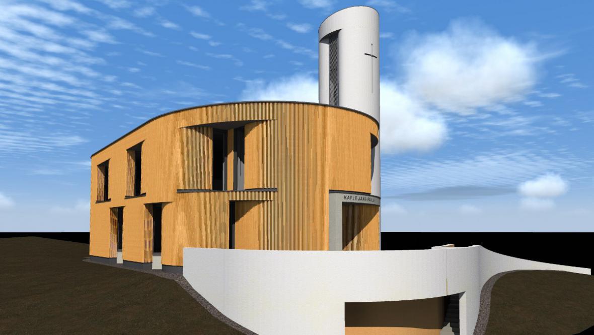 Vizualizace bukovanské kaple