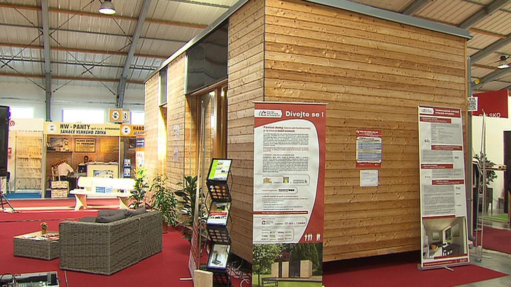 Mobilní pasivní dřevostavba se bude dražit na pražském Veletrhu ForArch