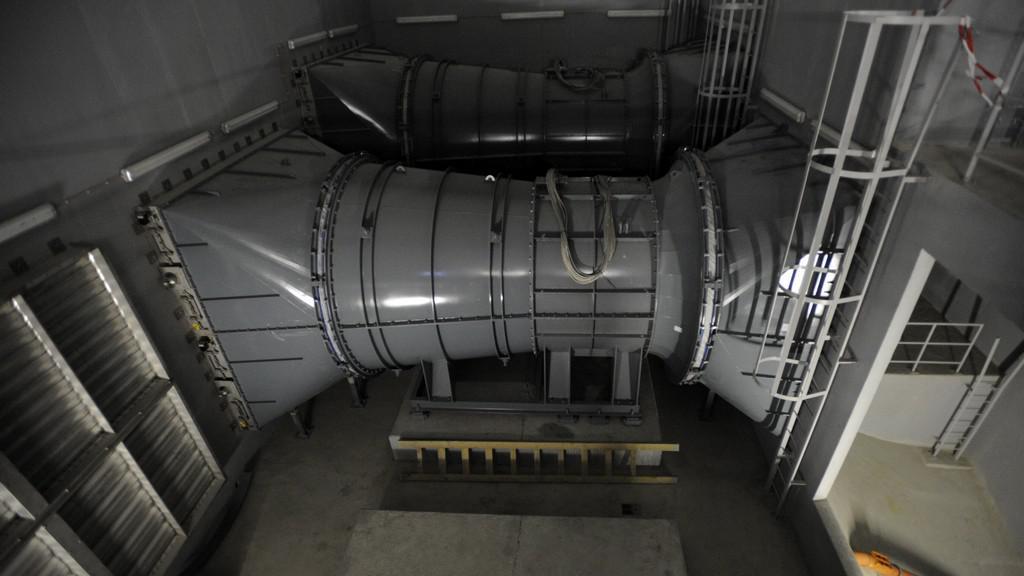 Technologické zázemí tunelového komplexu Blanka