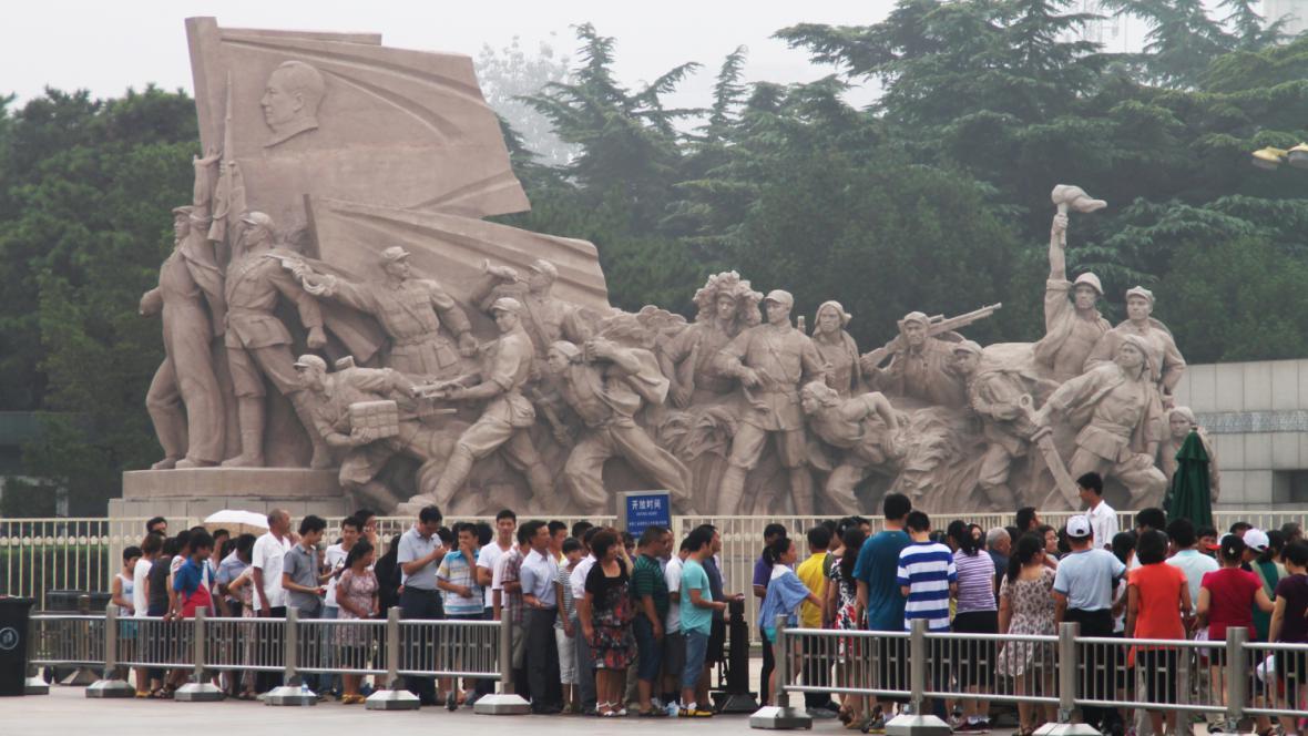 Na náměstí Nebeského klidu