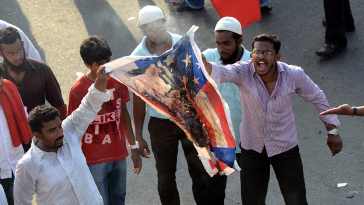 Protesty proti snímku Nevinnost muslimů