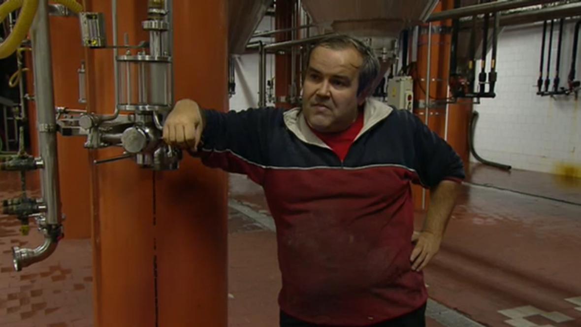 Hlavní postava kauzy Budínka, novinář Miroslav Mareš, dnes pracuje v pivovaru