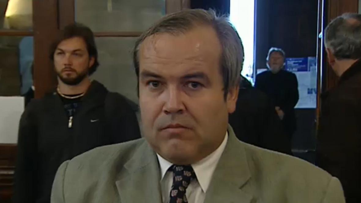Hlavní postava kauzy Budínka - bývalý novinář Miroslav Mareš