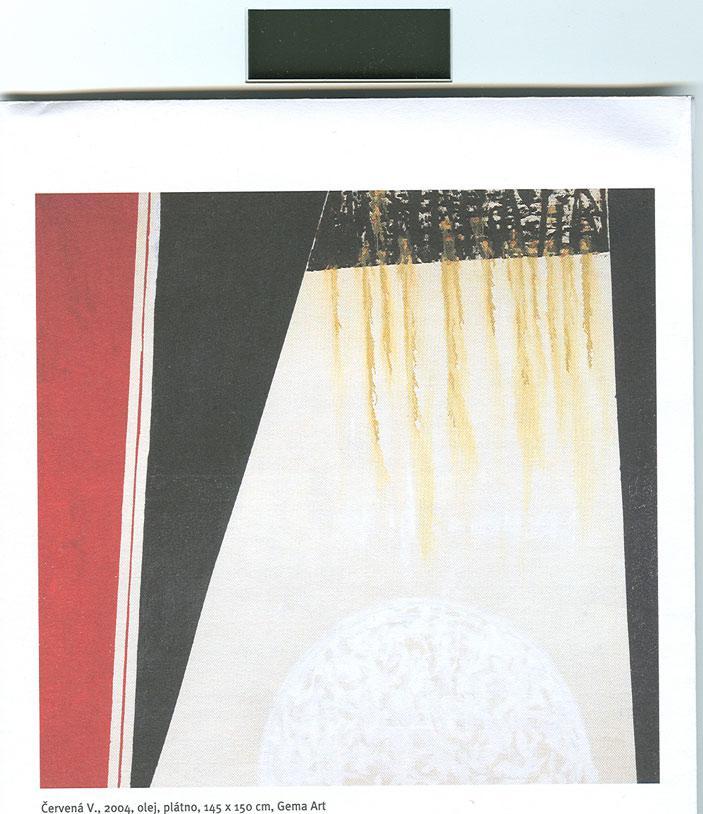 Ivan Ouhel: Červená (2004)