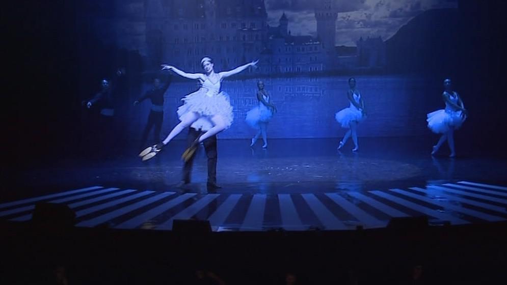 V muzikálu se objeví i baletní číslo s ploutvemi na nohou