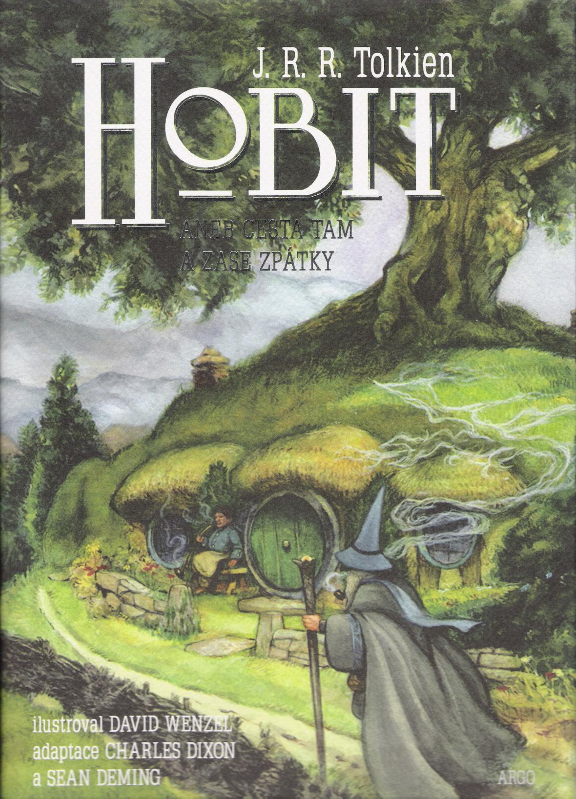 Hobit - kniha J. R. R. Tolkiena