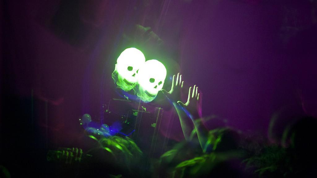 Světelná lebka