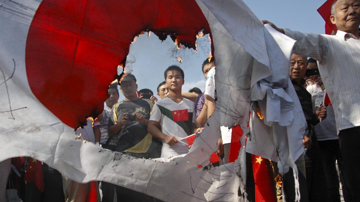 Protijaponské protesty v Číně