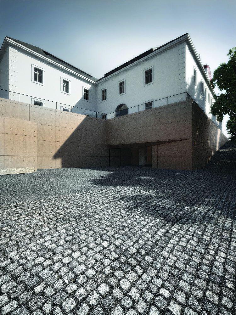Návrh revitalizace bývalého barokního kláštera paulánů v Nové Pace