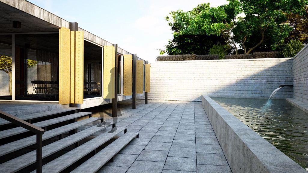 Rok Škerjanc a Andrej Šeligo navrhli projekt úpravy prostranství okolo kostela