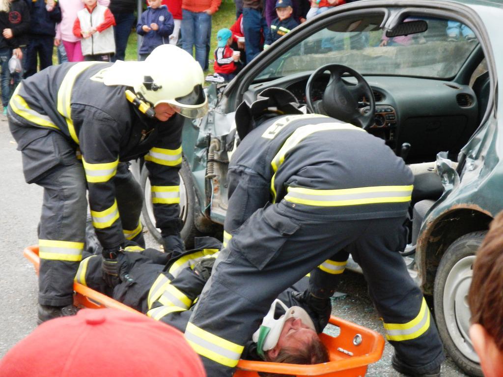 Den hasičů a záchranářů v Trhovém Štěpánově