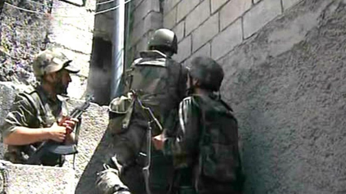 Boje v Halabu
