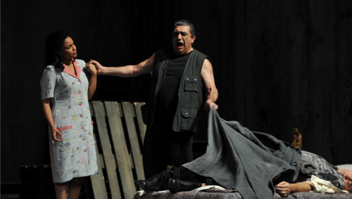Morenike Fadayomi, Anooshah Golesorkhi a Gustavo Porta (Il tabarro - Plášť)