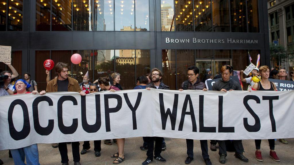 Výročí hnutí Occupy