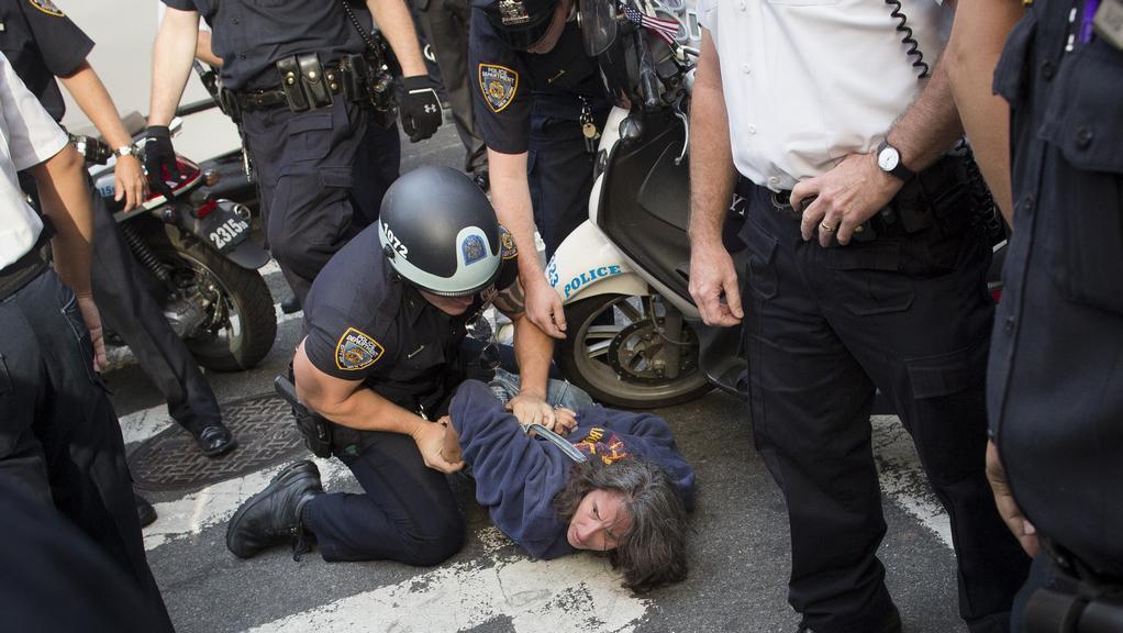 Policie zatýkala příznivce hnutí Occupy