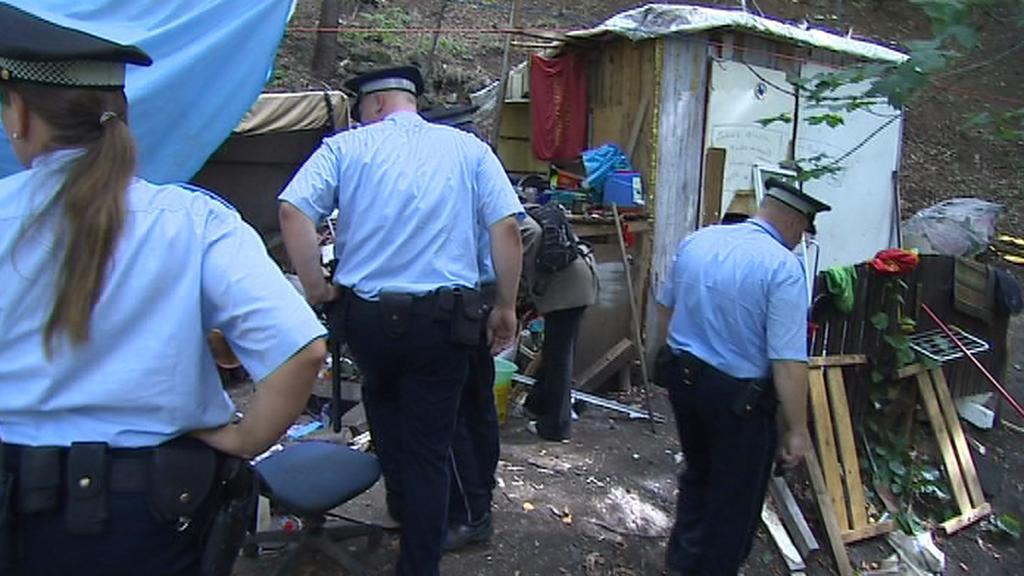 Strážníci vyrazili za bezdomovci