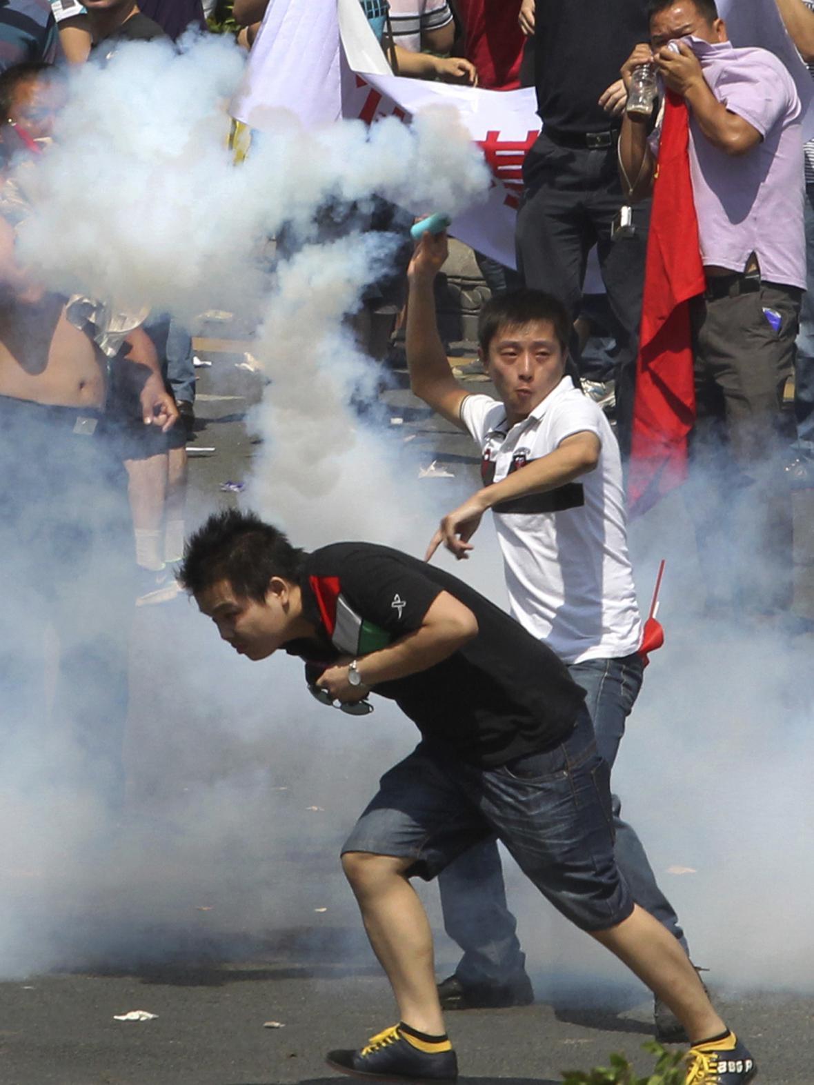 Čínské protesty proti Japonsku
