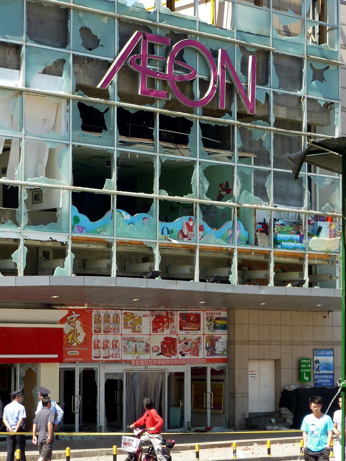 Následky nepokojů v Čching-tao