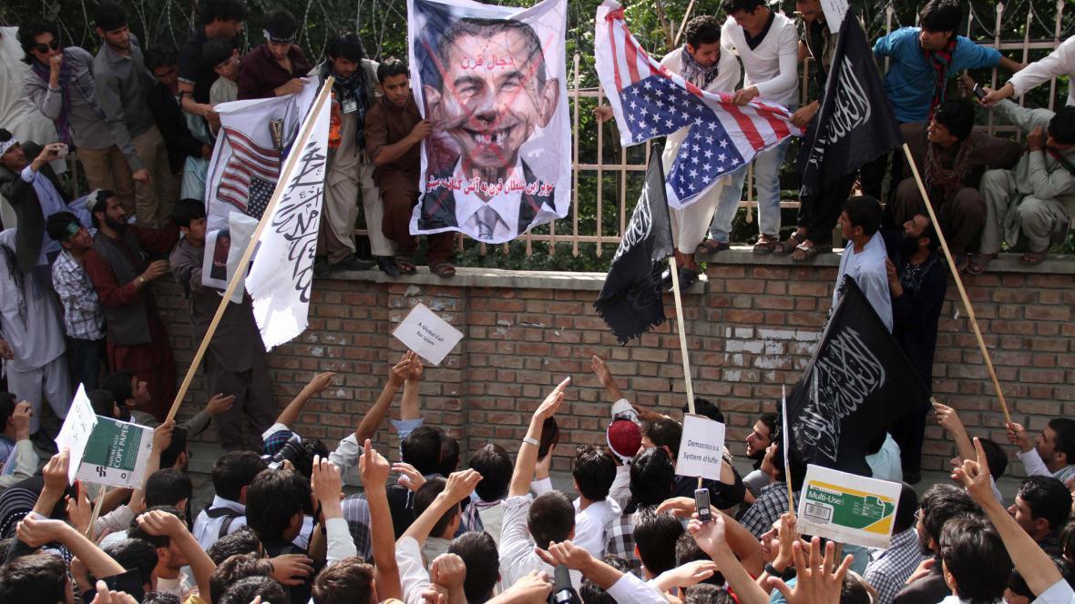 Protesty proti filmu v Kábulu