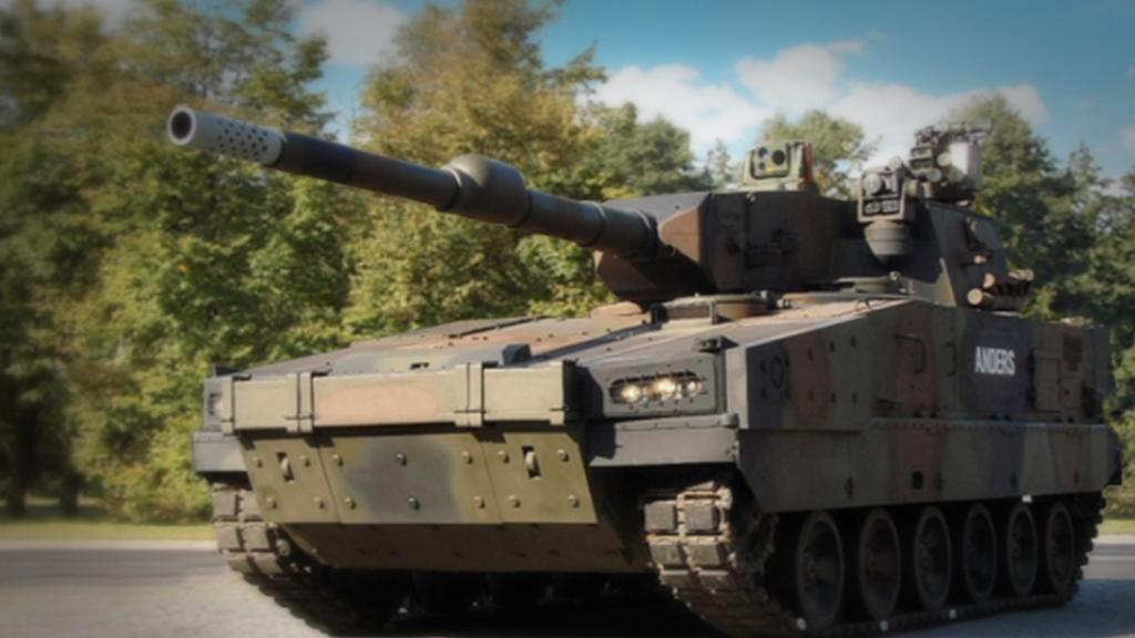 Polský tank Anders