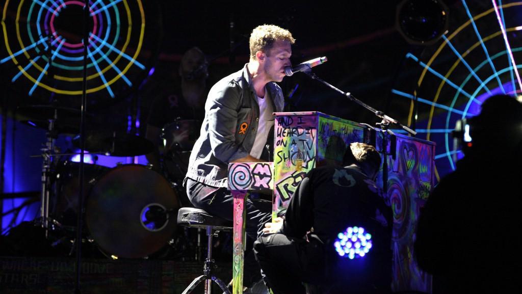 Coldplay hrají v Holandsku