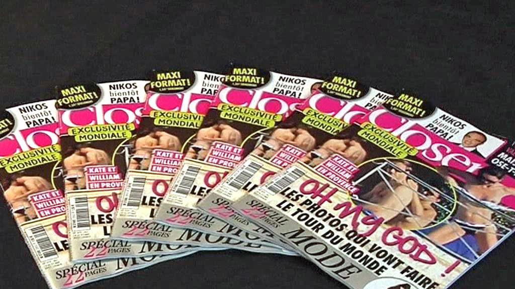 Magazín Closer uveřejnil fotky Kate nahoře bez