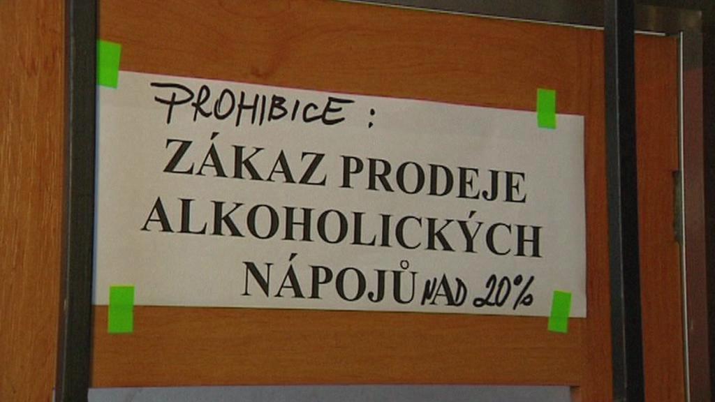 V Česku platí čátečná prohibice