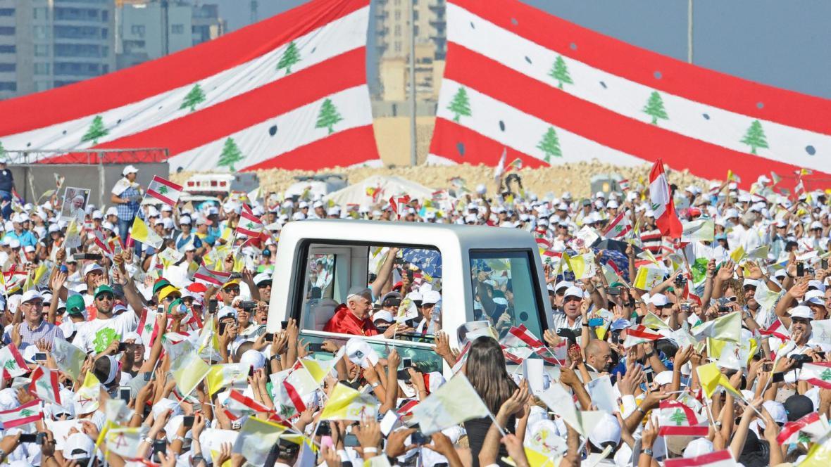 Papež Benedikt XVI. v Libanonu
