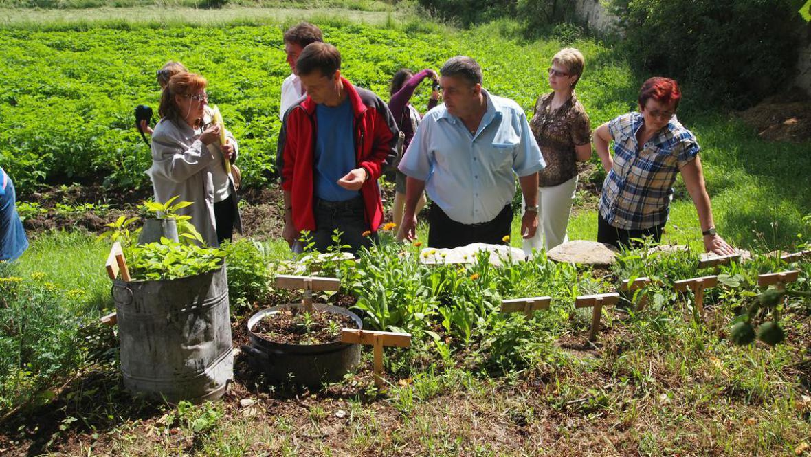 Návštěva krajské komise soutěže Vesnice roku 2012