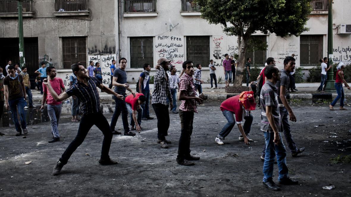 Demonstrace proti filmu o Mohamedovi